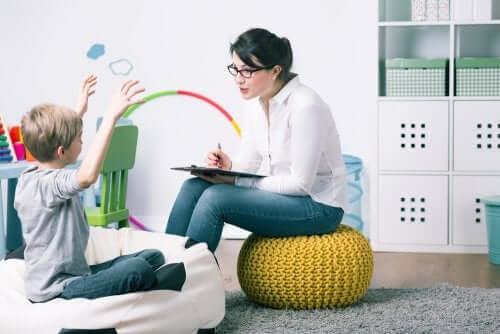 Psikolog ve çocuk