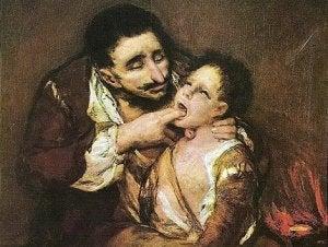 Tormesli Lazarillo Goya resmi