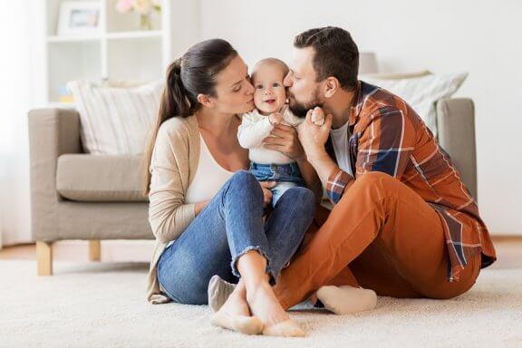 aile bağları temsili fotoğraf