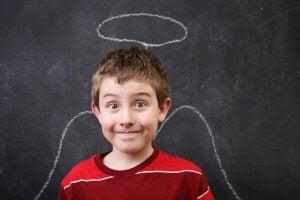 İyi çocuk melek kanadı