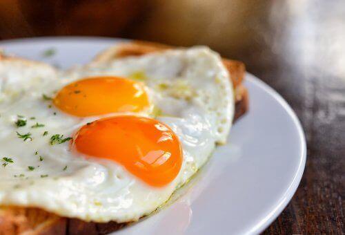 yuksek protein içerikli yumurtalı tarif
