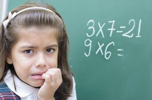 Çocuklardaki Matematik Anksiyetesi