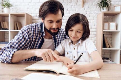 Çocukların ödev yapması için alan