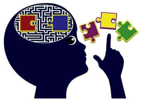 Yapboz beyin ve düşünce