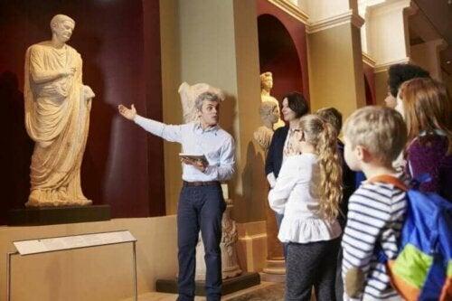 çocuklara sanatı öğretmek