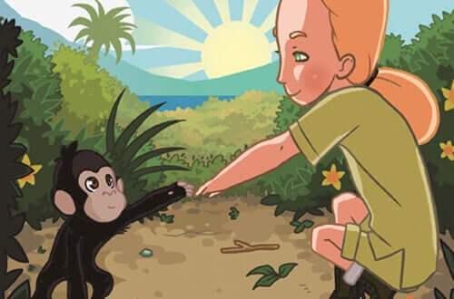 Jane Goodall ve şempanzeler