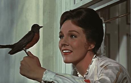 mary poppins kuş