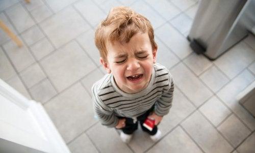 çocuklarda olumsuz duygular
