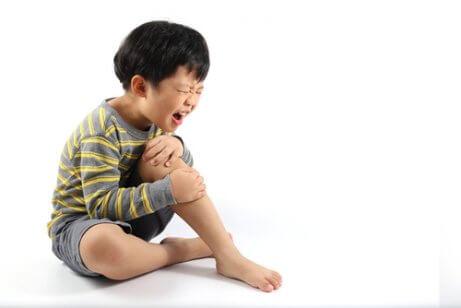 çocuklarda bacak ağrıları