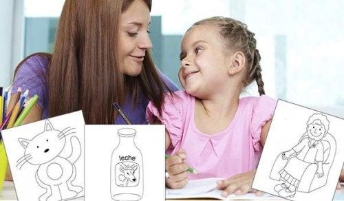 çocuğunuzla birlikte boyama yapmak