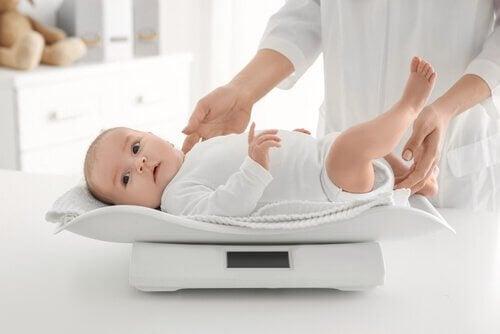 bebeğin kilosunu öğrenmek
