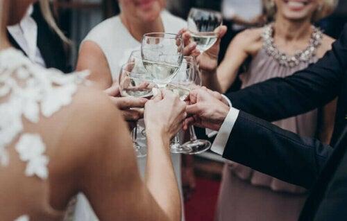 düğünde kutlama