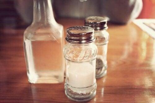 limon ve tuz ile temizlik