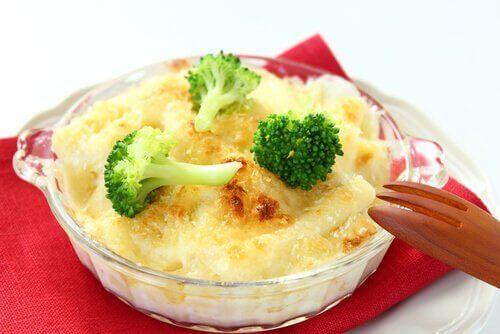 brokoli karnabahar peynirli