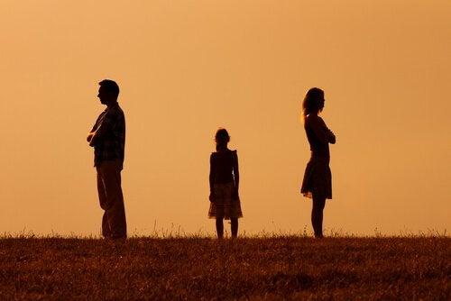 Boşanmış çiftlerin çocukları