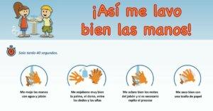 Koronavirüs ve çocuklar için el yıkama