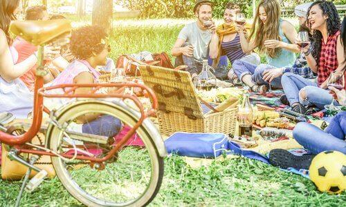 piknik park gençler