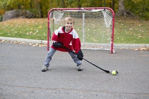 spor yapan çocuk