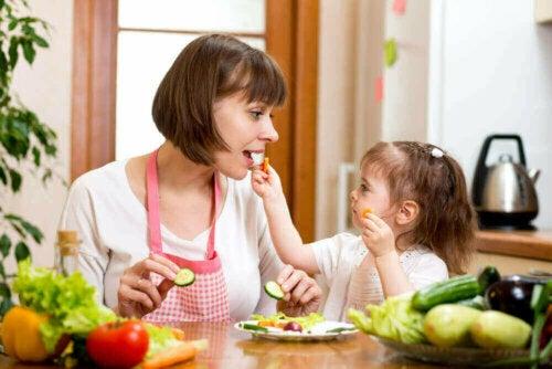 Çocuklara Sebze Yedirmek İçin Fikirler