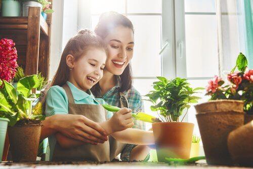 çocuklar için botanik dersleri