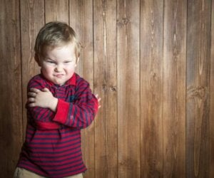 Öfkeli bir çocuk