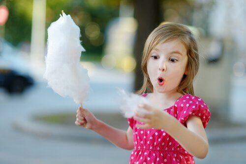 Çocukların şeker tüketmesi