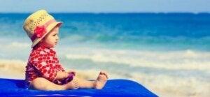 Plaj ve bebek