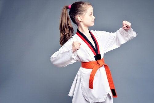 Çocuklar için dövüş sporları