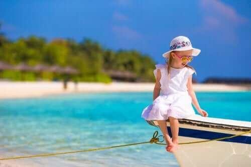 Çocuklarla yelken yapmak