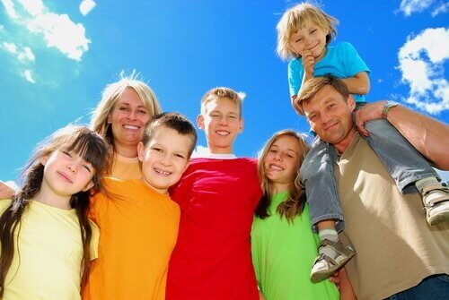 kalabalık aileler