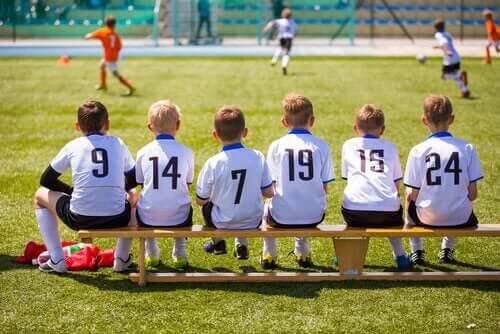 okulda futbol takımı