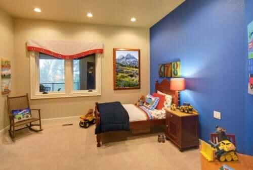 Düzenli bir çocuk odası