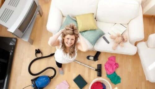 Ev işleri temizlik