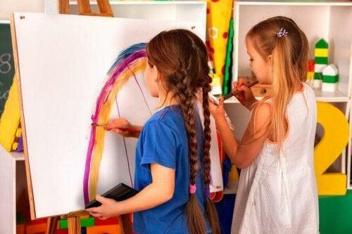 Çocuklar İçin Sanat Kursları