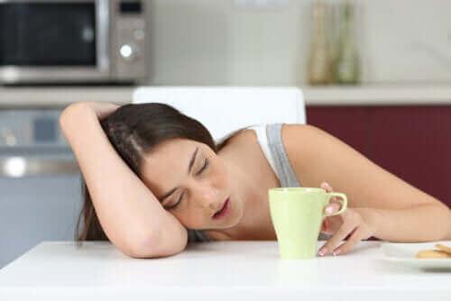 uykulu kadın