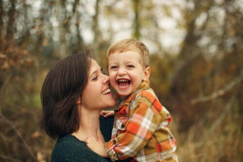 ormanda anne ve oğul