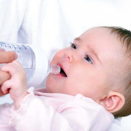 bebek su içmeli