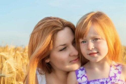 anne ve kız