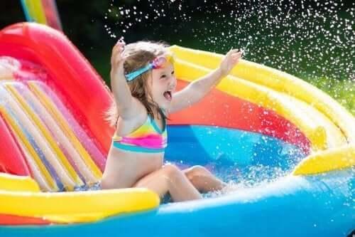 Çocukların Yaz Boyu Keyif Alacağı Altı Su Oyunu