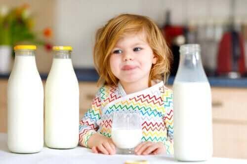 Çocuklarda İnek Sütü Proteini Alerjisi