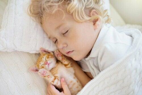 Çocukların uyku düzeni