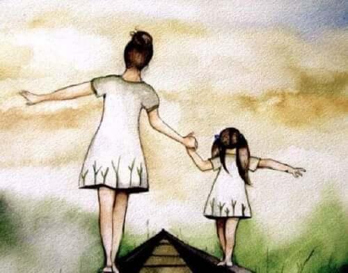 anne, kız bir arada