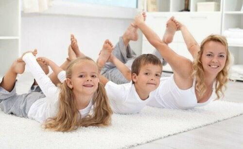 Çocuğunuzla Spor Yapmak İçin 5 Fikir