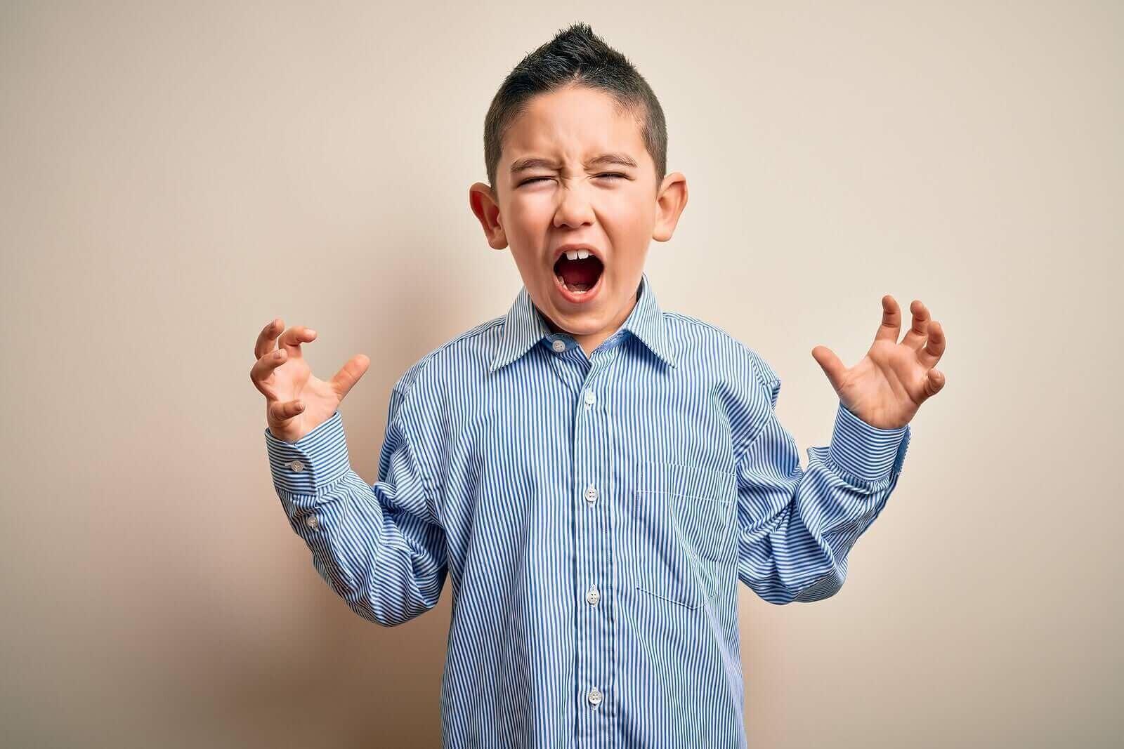 çocuklarda öfke