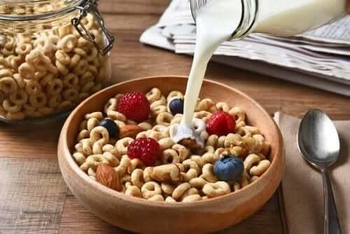 Kahvaltıda tahılların tüketimi