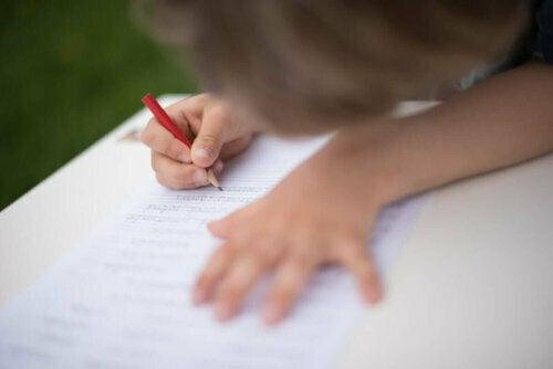 yazı yazmayı öğrenmek
