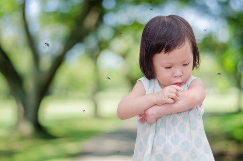 çocuklarda sinek ısırığı