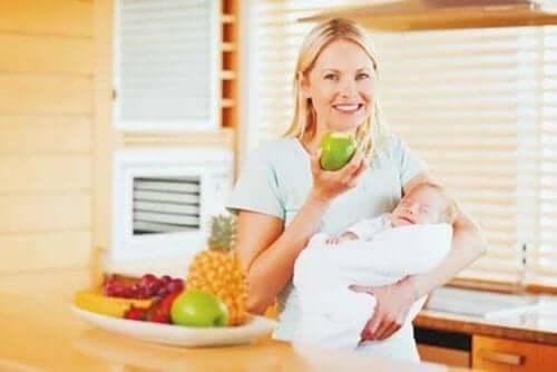 Emzirme Dönemi İçin Beslenme İpuçları