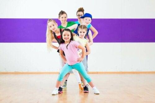 Modern Dans ve Çocuklara Faydaları