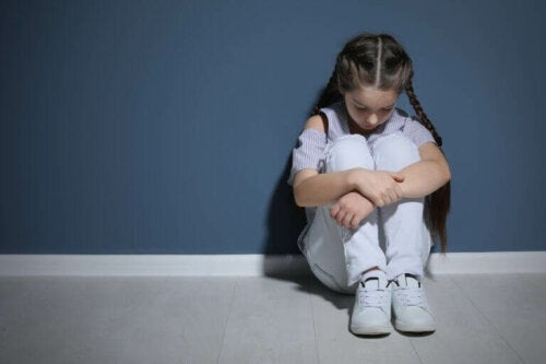 depresyonda kız çocuğu